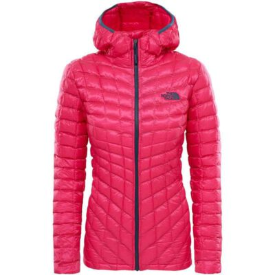 Chaqueta de Plumón The North Face mujer Thermoball Petticoat pink T93BRJ79M Rosa fucsia detalles grises
