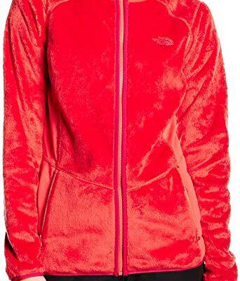 Forro polar osito THE NORTH FACE MUJER con capucha MOSSBUD ref. T0A6KSG14 Rosa coral