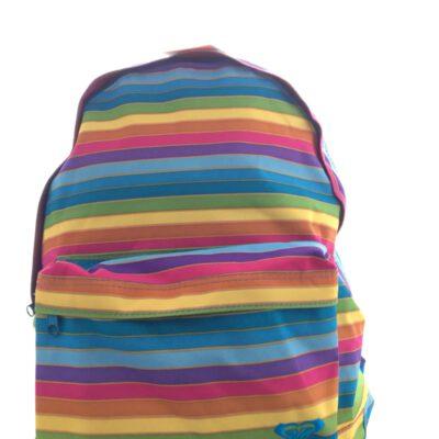 Mochila Roxy Basic Girl 4193788 XIWBA061 029easy does lil rayada multicolor arcoiris