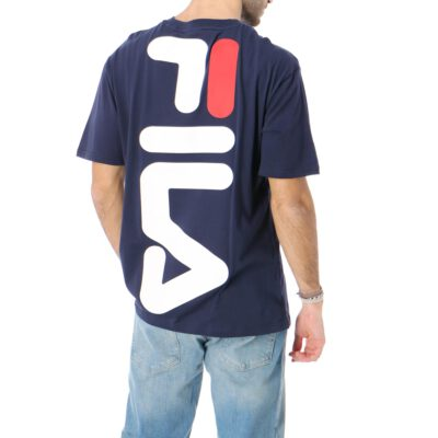 Camiseta manga corta FILA chico Men Bender Tee Ref. 687484 Azul marino super logo espalda