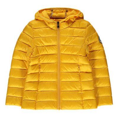 Chaqueta capucha Jott de plumas pato Niña Moutarde 621 CARLA BASIC Justoverthetop Color amarillo mostaza