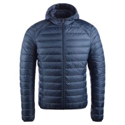 Chaqueta capucha Jott de plumas Hombre Bleu Jeans NICO 140 BASIC Justoverthetop Plomo Azul tejano