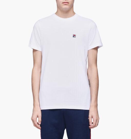 Camiseta manga corta FILA chico Men Seamus Tee Ref. 682393 Blanca clásica