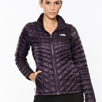 Chaqueta de Plumón The North Face mujer Thermoball EGGPLNT T933HI374 color berengena