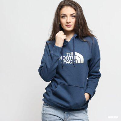 Sudadera THE NORTH FACE mujer con capucha DREW PEAK Ref. T0A8MUN4L azul con logo bordado blanco