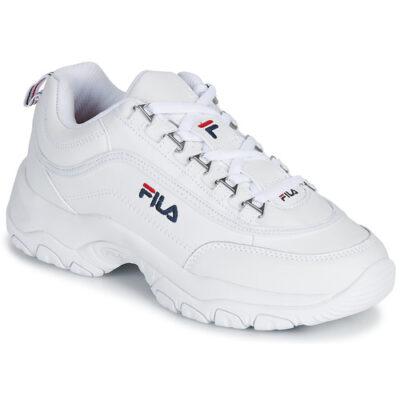 Zapatillas deporte FILA mujer Strada LOW WHITE Ref. 1010302.1FG blanca