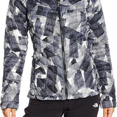 Chaqueta de Plumón The North Face mujer Thermoball TOCUC6KNX Camuflaje negra