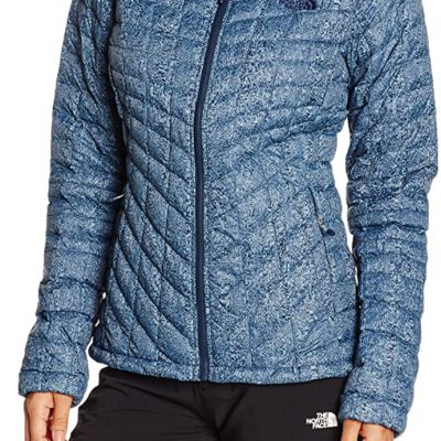 Chaqueta de Plumón The North Face mujer Thermoball TOCUC6KPY Animal print azul
