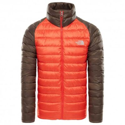 Chaqueta de Plumón The North Face hombre Trevail Jacket T939N56WX Urban bicolor marrón y naranja