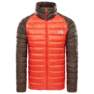 Chaqueta de Plumón The North Face hombre Trevail Jacket T939N56WX Urban bicolor marrón y naranja