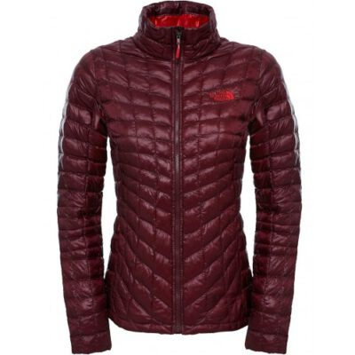 Chaqueta de Plumón The North Face mujer Thermoball Garnet red T0CUC6HBM Granate