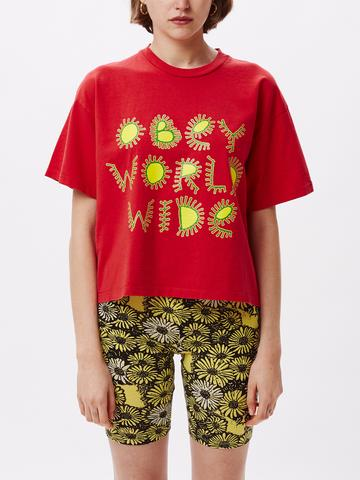 Camiseta manga corta OBEY chica Come Together Ref. 267621664 Tomato roja Wold Wide