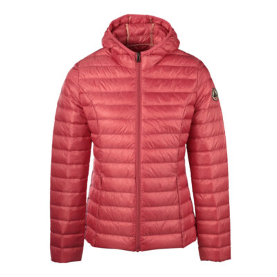 Chaqueta capucha Jott de plumas Mujer Rose Bombón 434 CLOE BASIC Justoverthetop Color Rosa