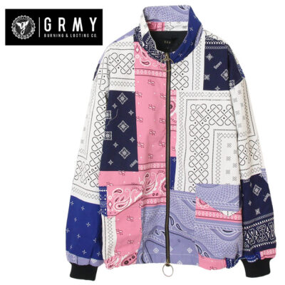 Chaqueta bomber GRIMEY unisex Carnitas Jacket Ref. GBJ012-SS20 chachemir multicolor