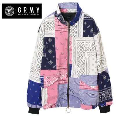 Chaqueta bomber GRIMEY unisex Carnitas Jacket Ref. GBJ012-SS20 chachemir multicolor