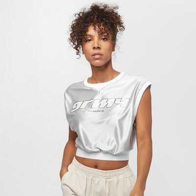 Camiseta Top Grimey Chica manga corta Acknowledge Girl Crop Top SS20 Silver Ref. GGTT122-SLV plata