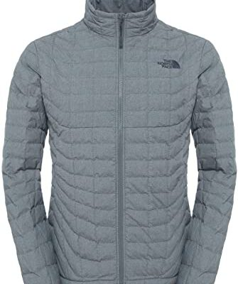 Chaqueta The North Face de plumón hombre cálida Thermoball Full Zip Jacket T0CMH0KDD Fusebox Grey gris