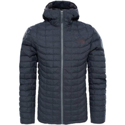 Chaqueta The North Face de plumón hombre cálida Thermoball hd jkt Jacket T9382AQ2T FusBXGRY Gris oscura jaspeada