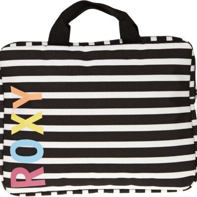 Maletín para portátil hasta 17'' pulgadasRoxy WPWBA591W Stripes rayas blancas y negras