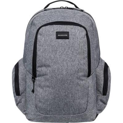 Mochila Quiksilver doble chico EQYBP03418 Schoolie Backpack Schoolie M Bkpk bolsillo ordenador gris
