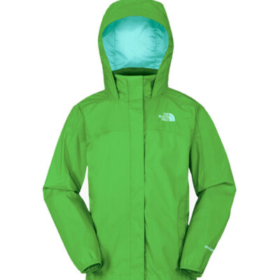 Chaqueta Chubasquero THE NORTH FACE niño con capucha RESOLVE JACKET MOJITO GREEN ref. T0A1VCJG9 Verde mojito