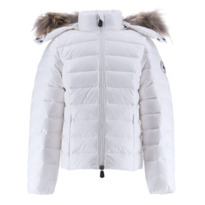 Chaqueta con capucha Jott de plumas jott Niña 35901OPA-901-BLANCOPALE GRAN FRÍO Justoverthetop Color blanco
