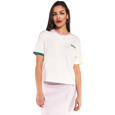 Camiseta Grimey Chica manga corta JADE LOTUS TEE SS18 WHITE Ref. GAGS480 Blanca