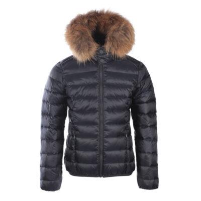 Chaqueta capucha Jott de plumas Niño GOLD GARCON GRAND FROID 3901/999 Noir Justoverthetop Color Negro