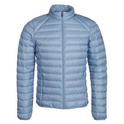 Chaqueta capucha Jott de plumas Hombre Bleu celeste NICO 164 BASIC Justoverthetop Plomo azul cielo