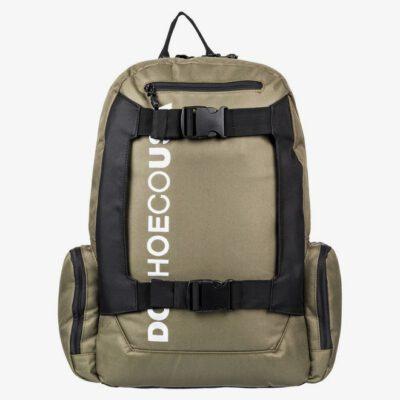 Mochila DC EDYBP03189 Backpack CHALKERS 28L grande con bolsillo ordenador verde caqui SKATEPACK