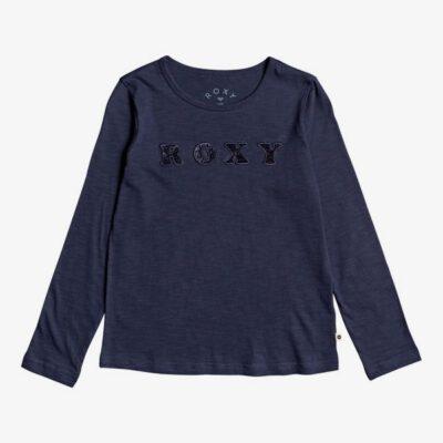 Camiseta ROXY niña manga larga Ref. ERGZT03457 Bananas Party Color azul