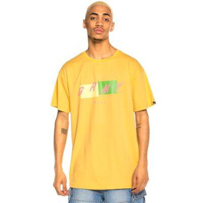 Camiseta GRIMEY manga corta unisex Rope a Dope Tee SS20 Apricot Ref. GA557-APR amarillo albaricoque