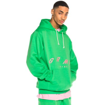 Sudadera GRIMEY con capucha chico Rope a Dope Hoodie SS20 Irish Green Ref. GCH464-GRN verde intenso