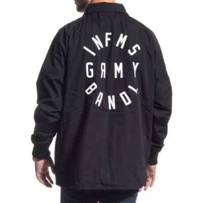 Chaqueta GRIMEY unisex SMOKY ALLEY COACH JACKET FW16 BLACK Ref. GCJA102-FW16-BLK negra