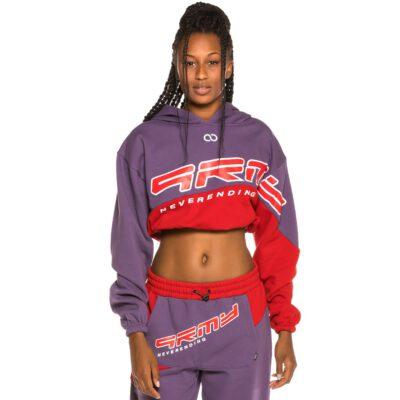 Pantalón chándal GRIMEY chica Sighting in Vostok Girl Sweatpants FW19 Purple Ref. GGTS118-PRP morado y rojo