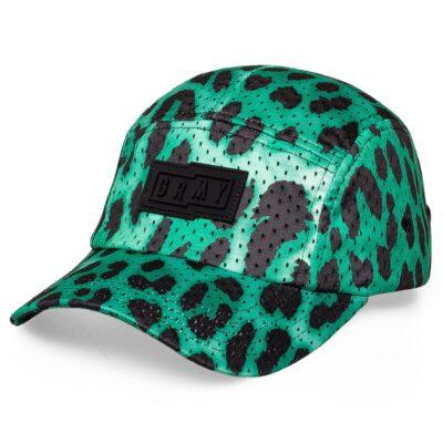 Gorra Grimey UNISEX Yanga 5 PanelsCap SS20 Green Ref. GR5P267-GRN verde leopardo
