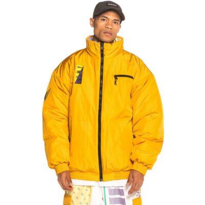 Chaqueta reversible GRIMEY Alienation 1977 Reversible Puffy Jacket FW19 Mustard Ref. GPJ107-MST Color amarillo mostaza