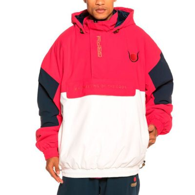 Chaqueta chándal GRIMEY Engineering Pull Over FW19 Red Ref. GPVJ109-RED Roja blanca