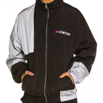 Sudadera GRIMEY Track Jacket Acknowledge Black Ref. GTJ159-SS20 negra