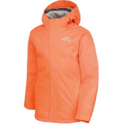 Chaqueta snow THE NORTH FACE niño con capucha YOUTH SNOW QUEST JACKET ref. T0CF59Z42 Peel Orange naranja
