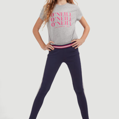 Legging O'Neill gruesos niña deportivos Contrast Legging lifestyle girls Ref. 0P7772-5204 Morados franja gris