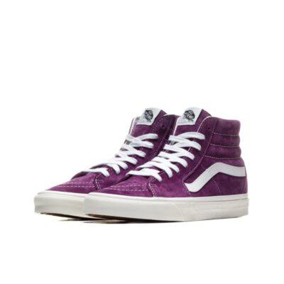 Zapatillas altas VANS Skate ante chica SK8-Hi Kelly/Snake Modelo: VN0A4BV618Q1 ante morado