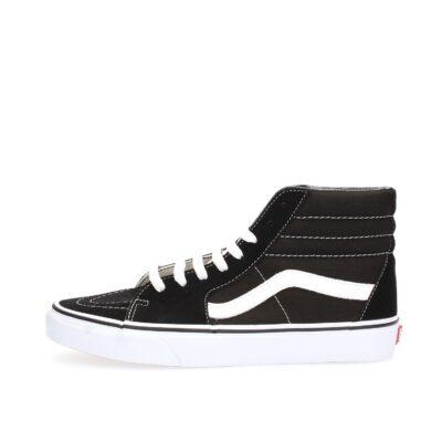 Zapatillas media caña VANS Skate número uno del mundo unisex SK8-HI black Ref. VN000D5IB8C1 básica negras con bandas negras