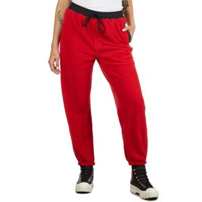Obey Alpine jogger pantalones deportivos de polar Ref. 242000076 rojo