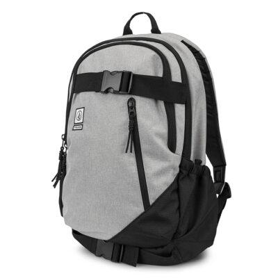 Mochila VOLCOM Backpack DE SUSTRATO CABERNET 26L grande con bolsillo ordenador Ref. D6531649 SKATEPACK Gris y negra