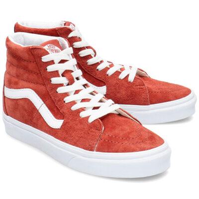 Zapatillas altas VANS Skate ante chica SK8-HI Pig Suede Modelo: VN0A4BV6V751 ante caldera