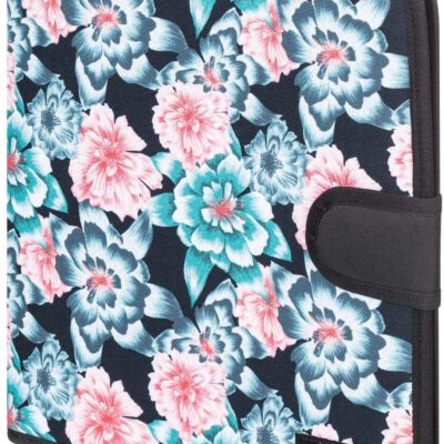 Carpesano Roxy Carpeta de 4 anillas What A Day Ref. ERJAA03615 Day Crystal Flower estampado flores