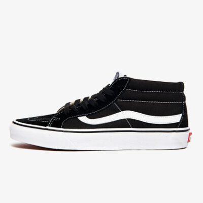 Zapatillas media caña VANS Skate número uno del mundo unisex SK8-Mid Reissue Ref. VN0A391F6BT negra básica