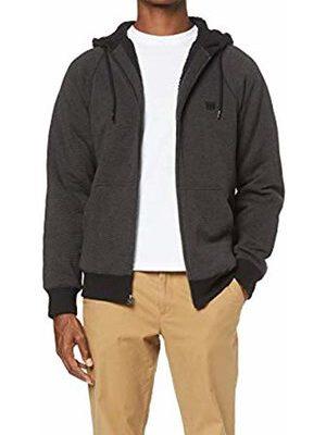 Chaqueta BILLABONG hombre caliente interior borrego con capucha Balance Sherpa Zip Ref. L1FL20 BIF8 negra