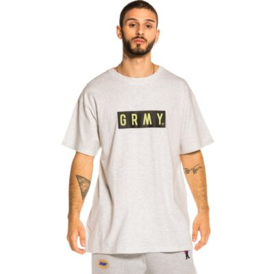 Camiseta GRIMEY manga corta unisex Steez FW20 Sport Grey Ref. GA576-FW20-SPG- Gris logo pecho